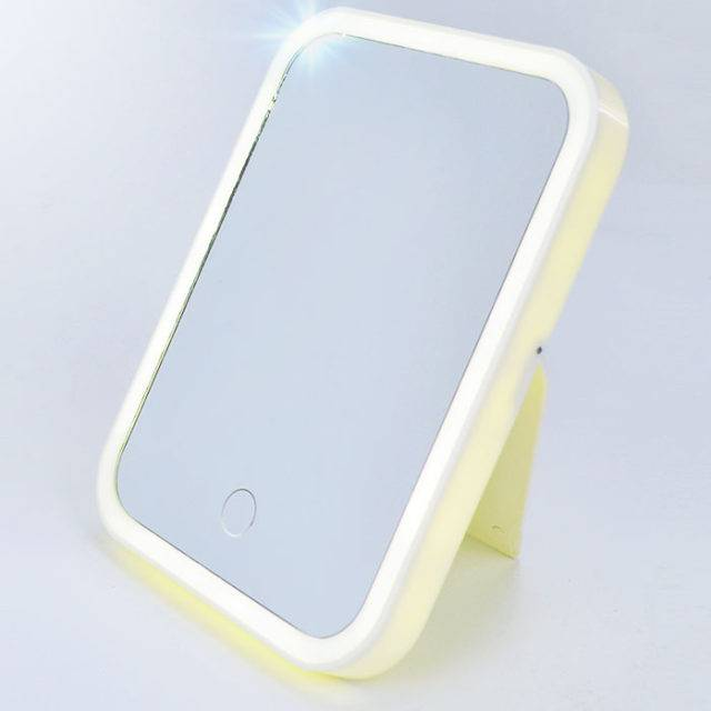Touch Screen USB Charging Makeup Mirror