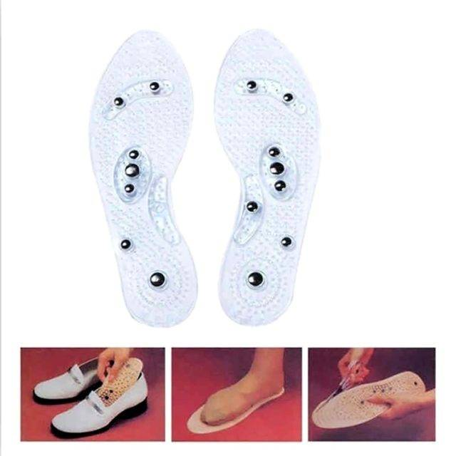 Massage Anti-Fatigue Silicone Orthopedic Insoles