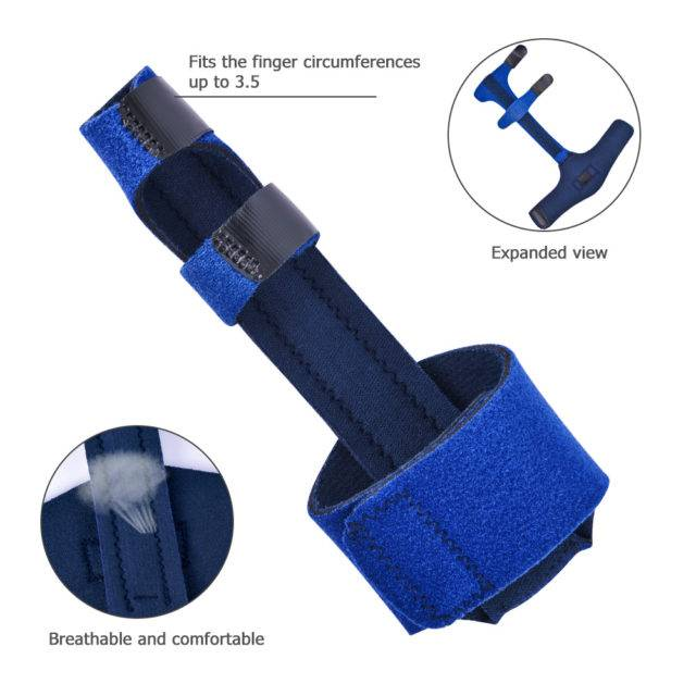 Breathable Adjustable Finger Corrector for Arthritis Pain Relief