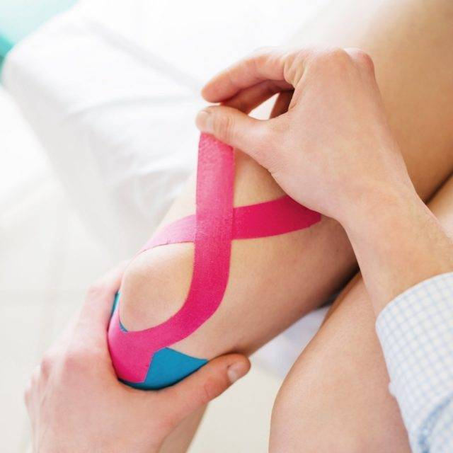Kinesiology Tape for Muscle Support