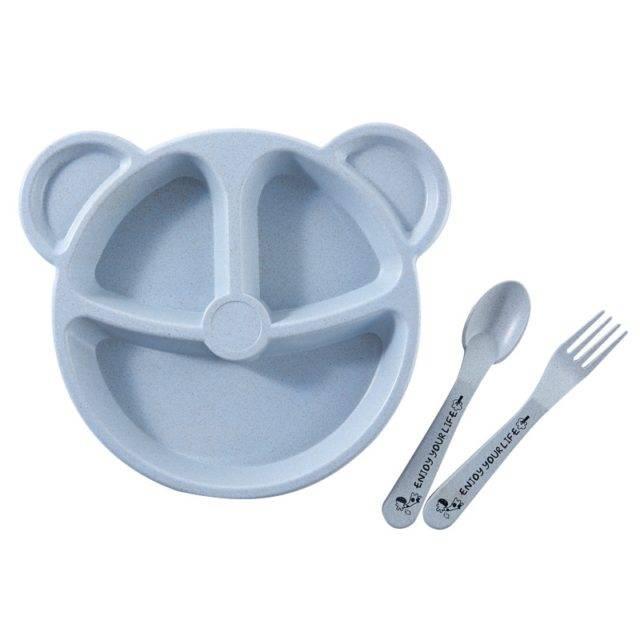 Cartoon Bear Shaped Dinnerware 3 pcs/Set