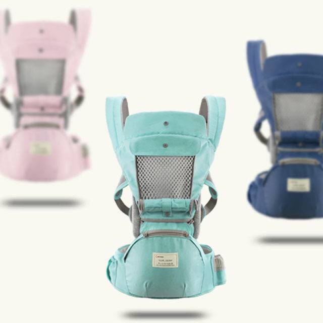 Breathable Ergonomic Baby's Carrier Backpack