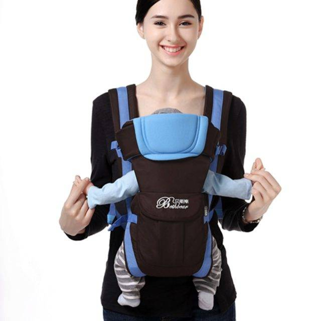 4 in 1 Baby's Breathable Front Carrier