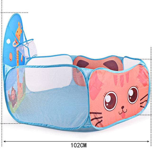 Portable Animal Printed Baby Playpen