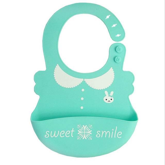 Waterproof Soft Silicone Baby Bib