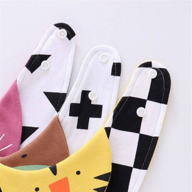 Adorable Bibs for Babies with Various Designs