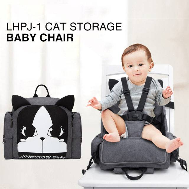 Portable Polyester Baby Chair Support