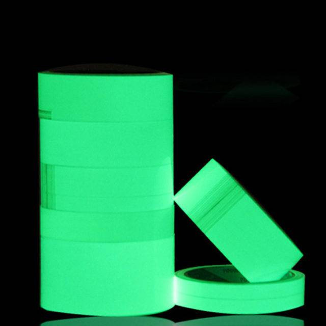 Fluorescent Adhesive Safety Tape