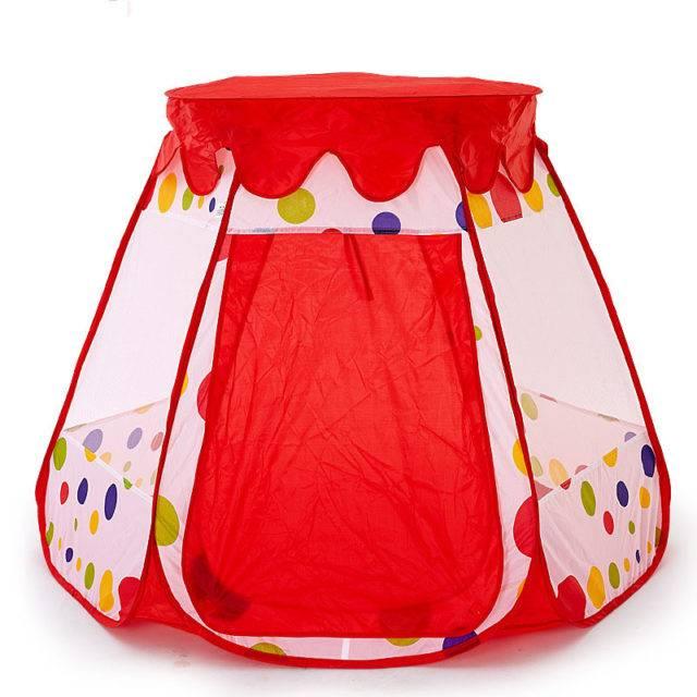 Portable Princess Castle Baby Playpen