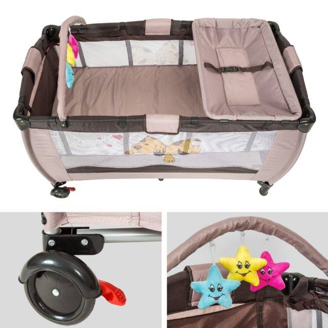 Portable Plain Polyester Cradle