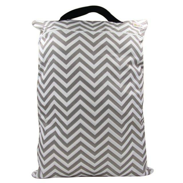 Animal Printed Polyester Diaper Bag