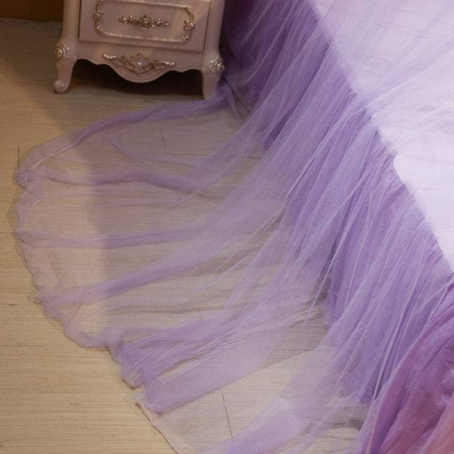 Crib Netting with Butterfly Decor for Princess