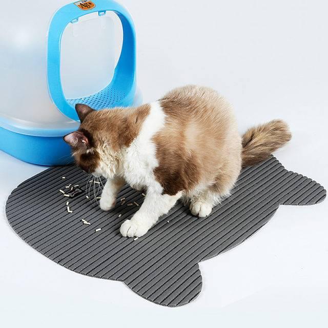 Large PVC Nonslip Pads for Cat's Toilet