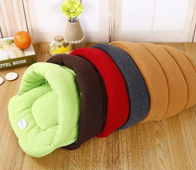 Shell Style Winter Warm Dog Bed