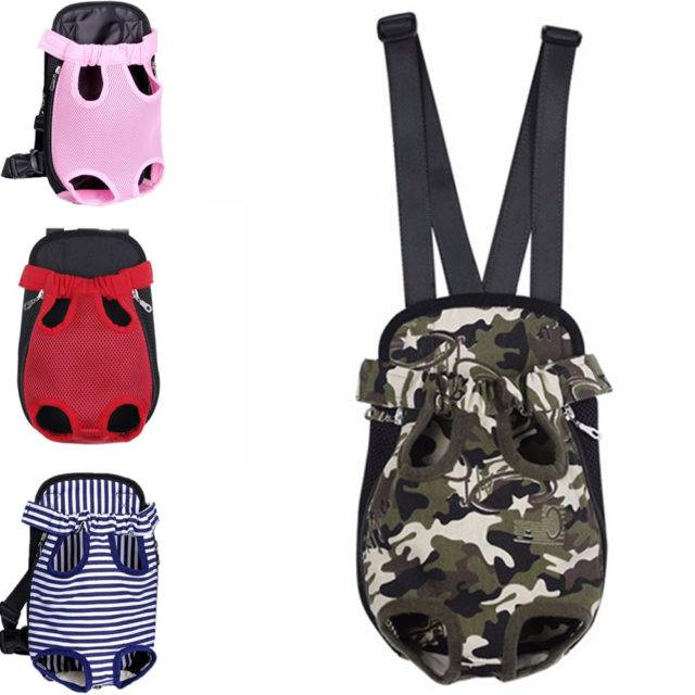 Colorful Dog Carrier Backpack