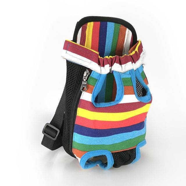 Colorful Small Pet's Sling Carrier Backpack