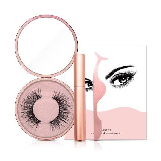 Magnetic Magnetic False Eyelashes and Eyeliner Set