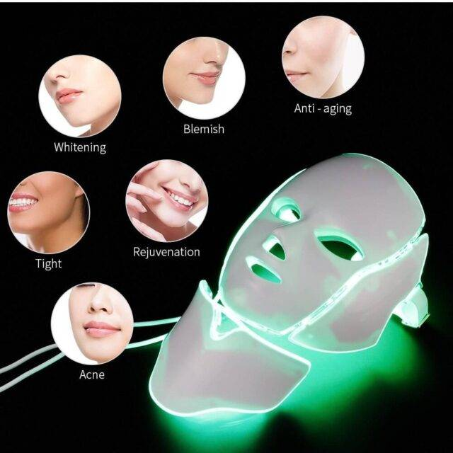 7 Colors LED Facial Mask