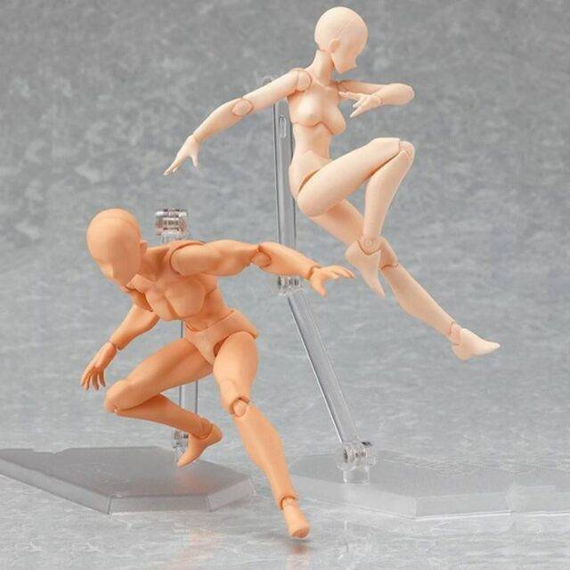 Movable Art Reference DIY Model Doll