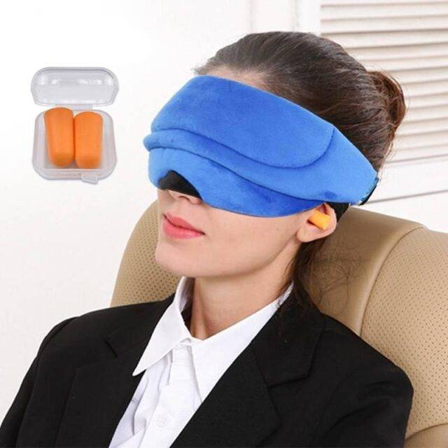 Portable 3D Sleep Mask
