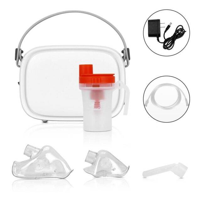 Quiet Portable Nebulizer with Handle