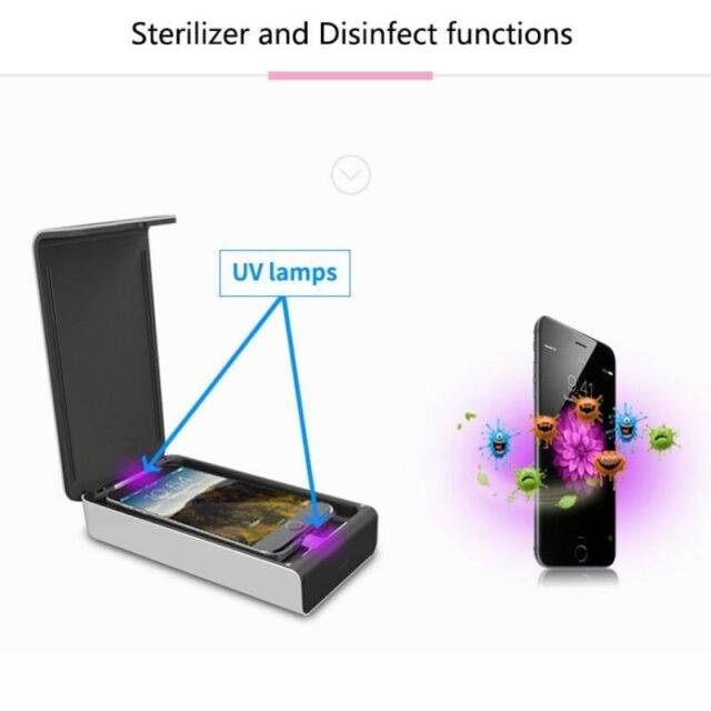 Ultraviolet Sterilizer with Wireless Charging